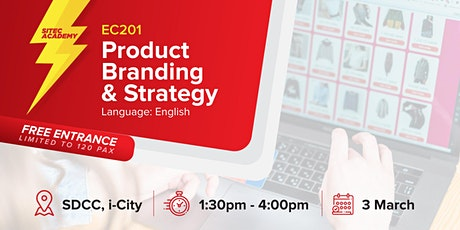 2020 SITEC E-Commerce Class 201: Product Branding & Strategy tickets