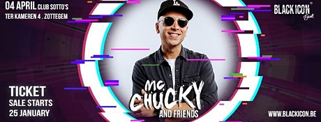 MC CHUCKY AND FRIENDS tickets
