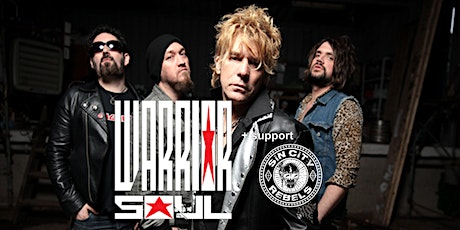 WARRIOR SOUL + support SIN CITY REBELS tickets