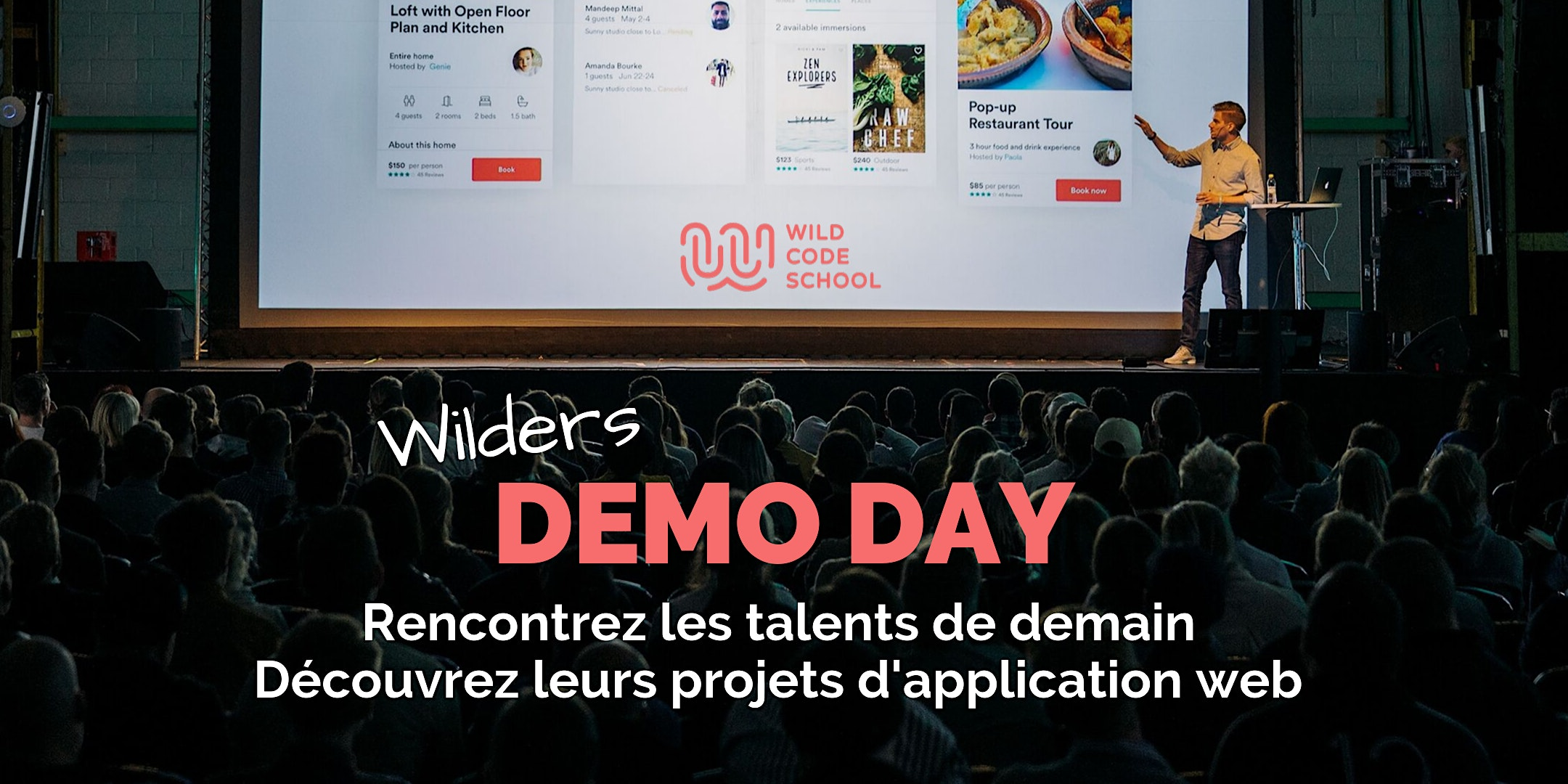 WILD DEMO-DAY - Invitation présentation & Cocktail - Wild Code School Reims