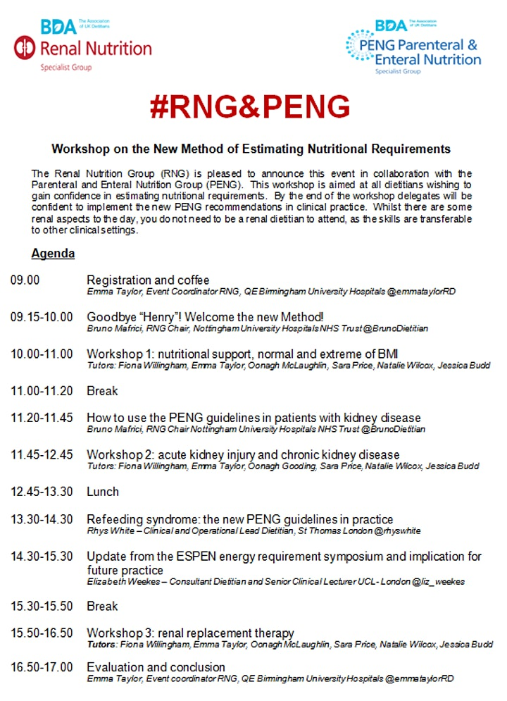 RNG Workshop on the New Method of Estimating Requi image
