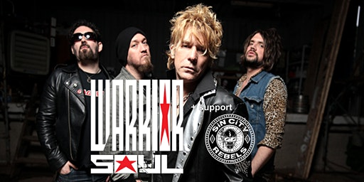 WARRIOR SOUL + support SIN CITY REBELS