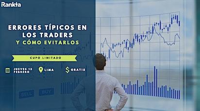 Errores típicos en los traders y cómo evitarlos entradas
