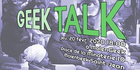 Geek Talk — S2 E2 billets