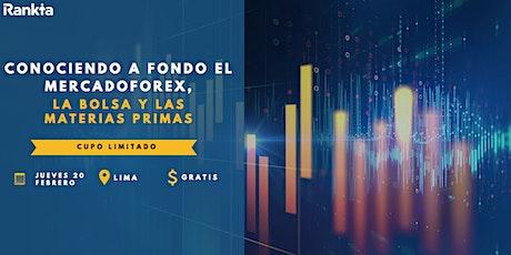 Conociendo a fondo el mercado Forex, la Bolsa y las Materias Primas entradas