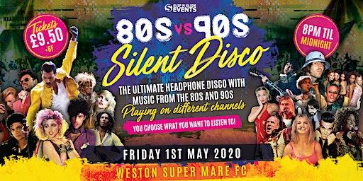 80s vs 90s Silent Disco in Weston-super-Mare