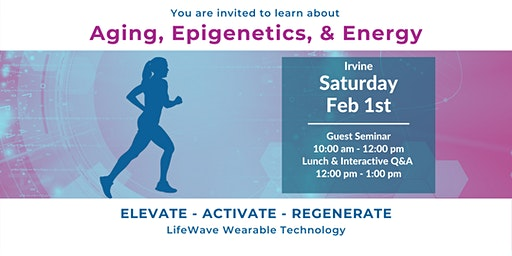 Aging, Epigenetics & Energy