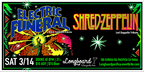 Electric Funeral and Shred Zeppelin tickets