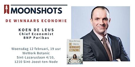 Moonshots invites KOEN DE LEUS - De Winnaarseconomie tickets