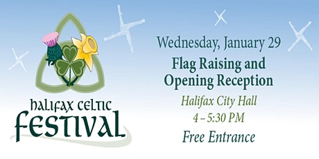 2020 Halifax Celtic Festival - Opening Reception and Flag Raising tickets