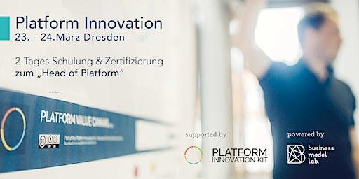 Schulung + Zertifizierung zum Head of Platform
