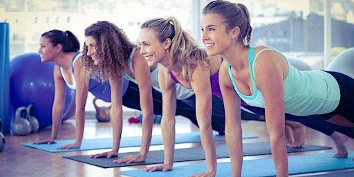 Womans Evening Circuits/Pilates Fitness Class