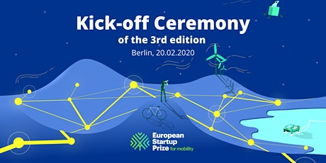 EU Startup Prize for mobility 2020 - Kickoff Ceremony tickets