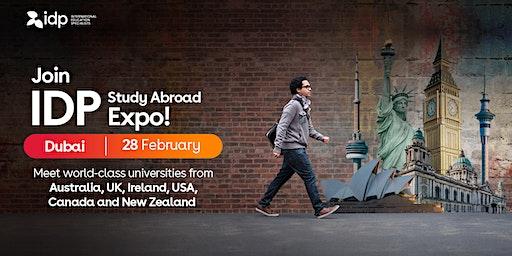 Attend IDP Study Abroad Expo in Dubai!