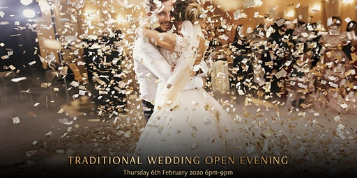 Traditional Wedding Open Evening