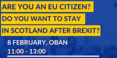 Information Session on EU Settlement Scheme in Oban tickets