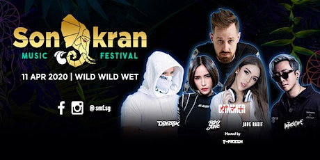 Songkran Music Festival Singapore 2020 tickets