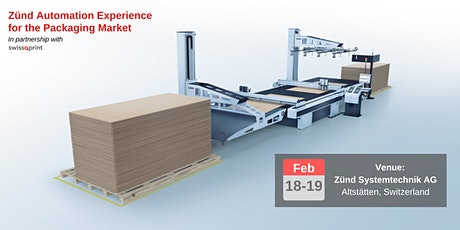 Zünd Automation Experience for the Packaging Market Tickets