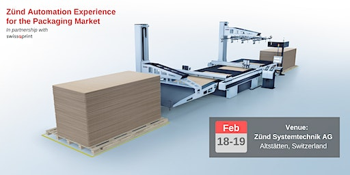 Zünd Automation Experience for the Packaging Market
