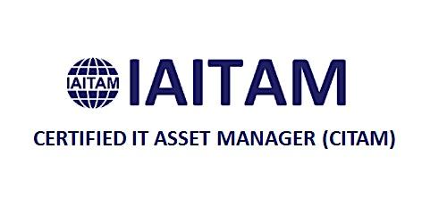 IAITAM Certified IT Asset Manager (CITAM) 4 Days Training in Kampala