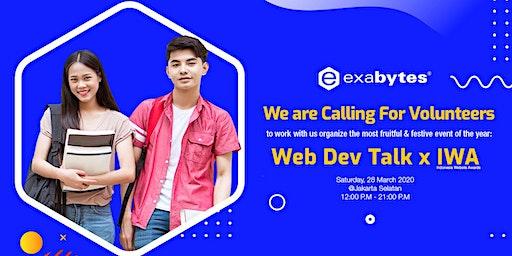 Calling For Volunteers for Indonesia Website Awards & Web Developer Talk