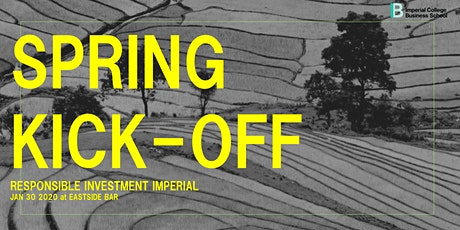 Responsible Investment | Spring Kick-Off Event tickets
