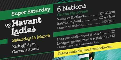 Super Saturday Rugby! tickets