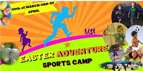 INVERNESS EASTER HOLIDAY ADVENTURE SPORTS CAMP HALF DAY TICKETS 30TH OF MARCH-3RD OF APRIL tickets
