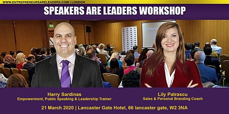 Speakers Are Leaders Preview @ Speakers Are Leaders 4 April 2020 Evening tickets