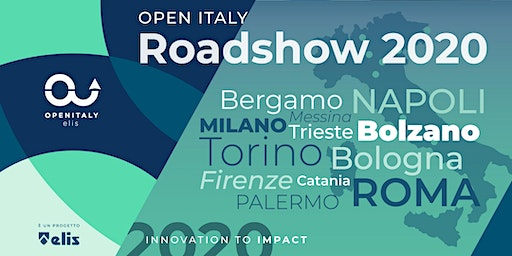 OPEN ITALY | ROADSHOW 2020 | Hub di LVenture Group & LUISS EnLabs | Roma