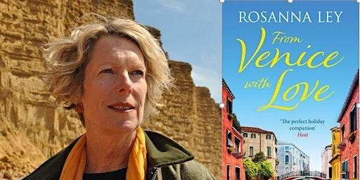 Author Rosanna Ley at Portishead Library