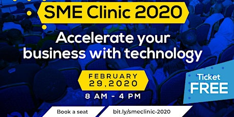 SME Clinic 2020 tickets