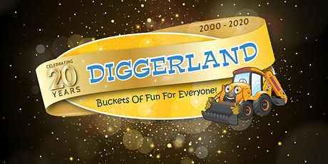 Diggerland's 20th Anniversary - Yorkshire tickets