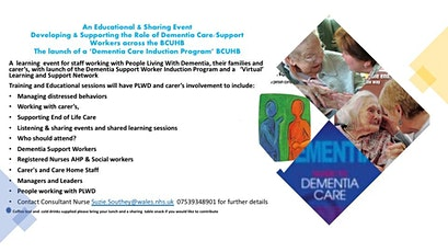 Dementia Care - Celebrating The  role of the Dementia Care & Support Worker tickets