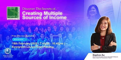 [Financial Seminar] The Secrets of Creating Multiple Streams of Income