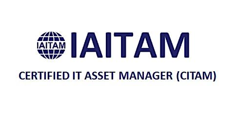 IAITAM Certified IT Asset Manager (CITAM) 4 Days Training in Las Vegas, NV