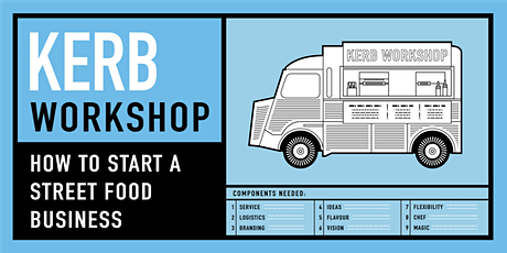 KERB Workshop - How to start a street food business - JUNE 2020 (postponed from April) tickets