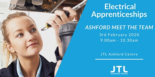 JTL Ashford Open Day Monday 3rd February - Plumbing & Heating and Electrical Apprenticeships