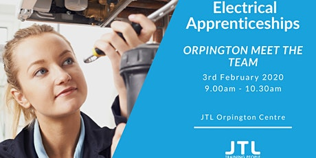 JTL Orpington Open Day Monday 3rd February - Electrical Apprenticeships tickets
