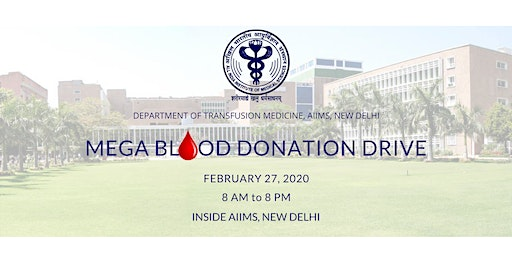 AIIMS Mega Blood Donation Drive