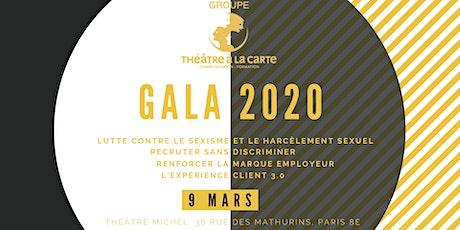 Soirée de Gala - Théâtre à la Carte  billets