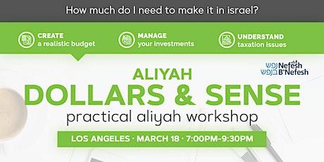 Aliyah Dollars & Sense: Los Angeles tickets