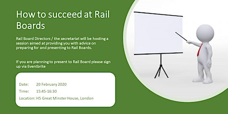 How to Succeed at Rail Board tickets