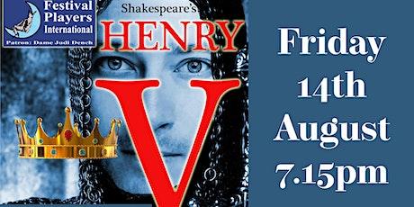 Shakespeare's Henry V tickets