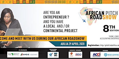 HubAfrica Pitch Roadshow: 8th Edition tickets