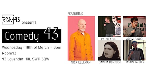 Comedy 43 - 18th of March