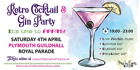 Retro Cocktail & Gin Party tickets