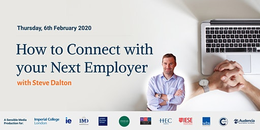 How to Connect with your Next Employer with Steve Dalton