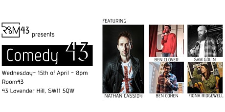 Comedy 43 - 15th of April tickets