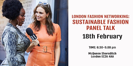 London Fashion Networking: Sustainable Fashion Panel Talk tickets